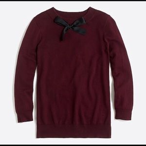 J Crew Bow Sweater